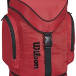 red wilson evolution backpack