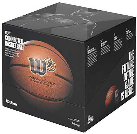 retail box of wilson x ball