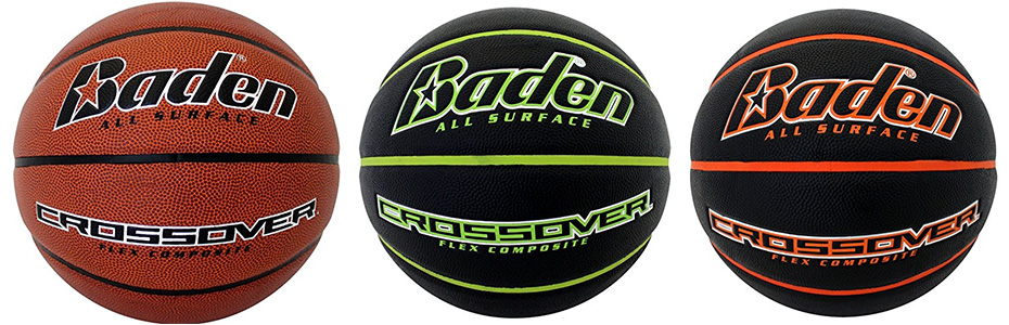 3 different colors of baden crossover