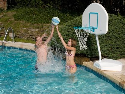 pool basketball game