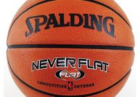Spalding Never Flat