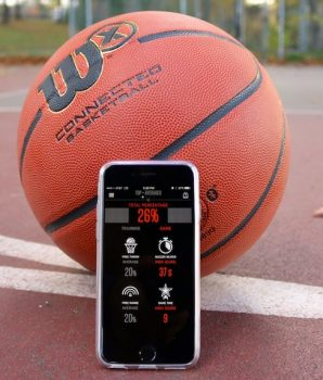 Wilson X with Smart Phone